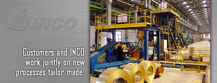Customers and INCO work jointly on new processes tailer made