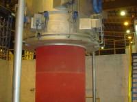 Sección de recocido para planta de laminación de acero al carbono