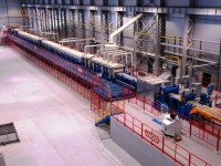 Línea de decapado para bobinas de acero al carbono estrechas