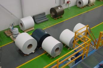 Línea de pintura para bobinas de aluminio