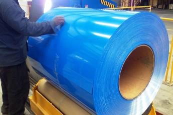 Línea de pintura para bobinas de acero galvanizado, aluzinc y aluminio